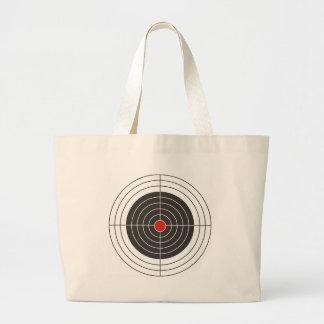 Target shooting for gun, rifle or firearm shooter jumbo tote bag