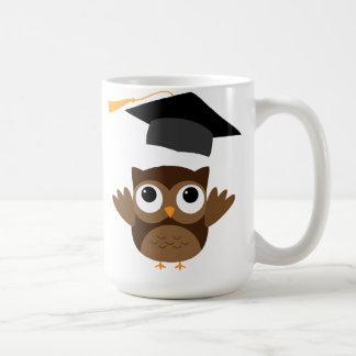 Tawny Owl Throwing Its Graduation Cap Mug