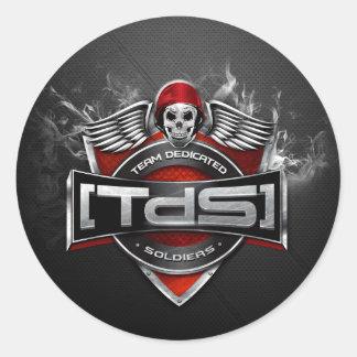 [TdS] Clan Australia/NZ Logo Round Sticker (Matte)