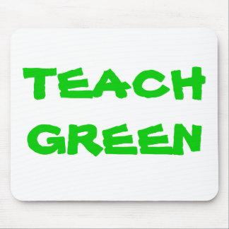 TEACH GREEN Mousepad