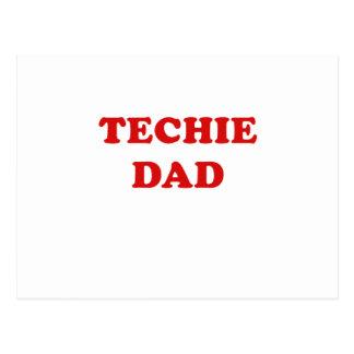 Techie Dad Postcard