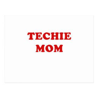 Techie Mom Postcard