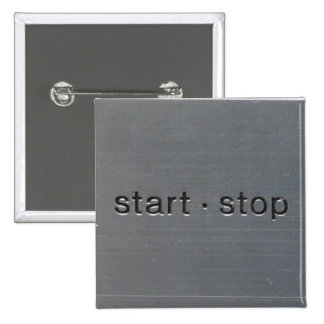 technics 1200 start 15 cm square badge