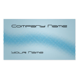 Techno Wave - blue Pack Of Standard Business Cards