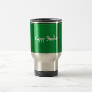 TEMPLATE Blank DIY easy customize add TEXT PHOTO Stainless Steel Travel Mug
