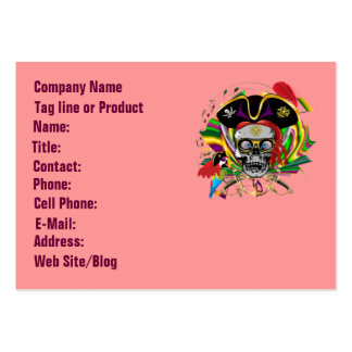 Template Businesss Card Mardi Gras Pack Of Chubby Business Cards
