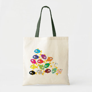 Ten Fishes Budget Tote Bag