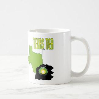 Texas Tea Basic White Mug
