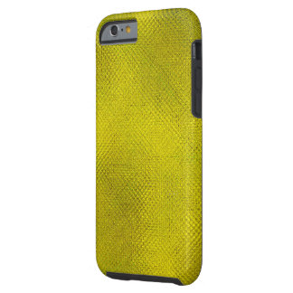 TEXTURED/ABSTRACT DESIGN/GREENISH-YELLOW COLOR TOUGH iPhone 6 CASE
