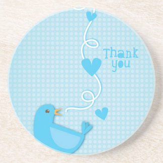 Thank you Blue Bird Beverage Coasters