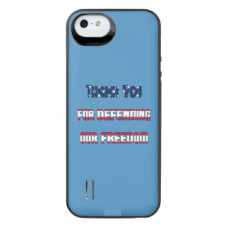 Thank You For Defending Our Freedom iPhone SE/5/5s Battery Case