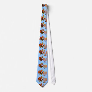 Thanksgivukkah Thankgiving Hanukkah Tie