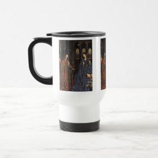 The Annunciation by Jan van Eyck Stainless Steel Travel Mug