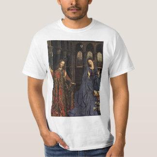 The Annunciation by Jan van Eyck Tee Shirts