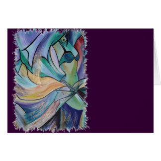 The Art of Belly Dance. Greeting Card