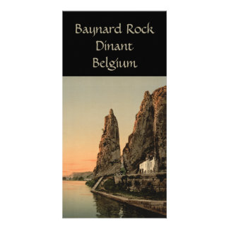 The Bayard Rock, Dinant Photo Greeting Card