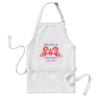 The Best Croatian Cook, Decorated Apron