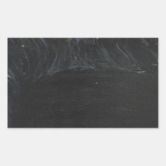 The Black Pond (black minimalism) Rectangular Sticker