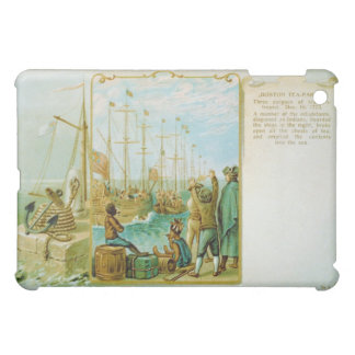 The Boston Tea Party of December 16th 1773 iPad Mini Cases