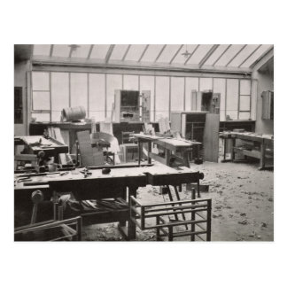 The Carpenter's Workshop, from the Workshops of th Postcard