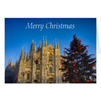 The Cathedral at Christmas Greeting Card