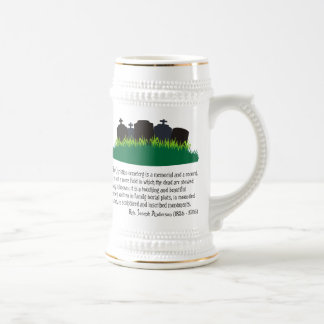 The Christian Cemetery Beer Steins