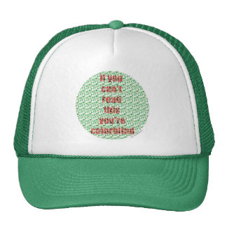 The Colorblind test Cap