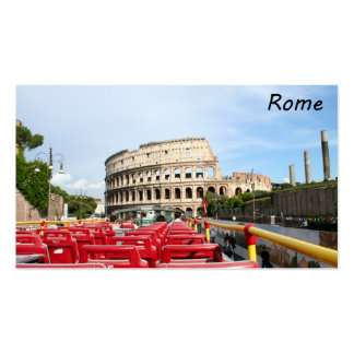 The Colosseum in Rome Pack Of Standard Business Cards