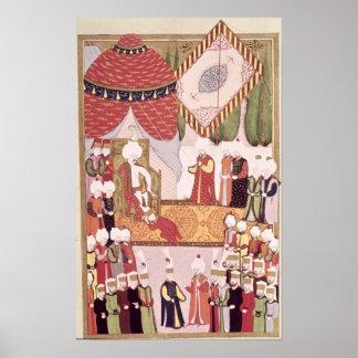 The Coronation of Sultan Selim I Poster