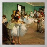 The Dance Class | Edgar Degas Poster