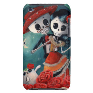 The Day of The Dead Skeleton Lovers iPod Case-Mate Cases