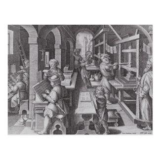 The Development of Printing Postcard