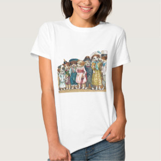 """The Dog Family"" Vintage Tee Shirts"