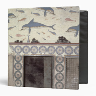 The Dolphin Frescoes in the Queen's Bathroom 3 Ring Binder