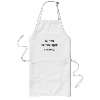The Fire Extinguisher  Apron