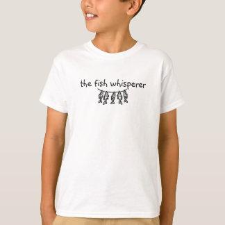 The Fish Whisperer Kids Shirt
