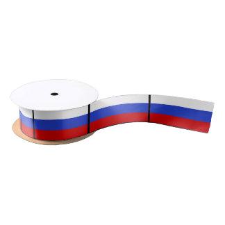 The Flag of Russian Satin Ribbon