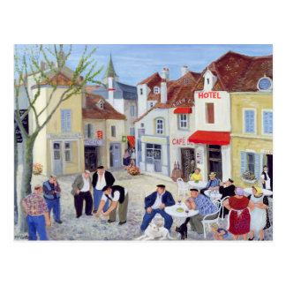 The Game Burgundy Postcard