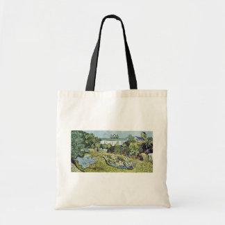 The Garden Daubigny By Vincent Van Gogh Budget Tote Bag