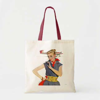 The Girl Who Stole Airplanes Budget Tote Bag