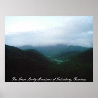 The Great Smoky Mountains of Gatlinbu... Poster