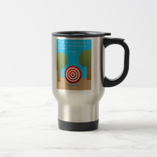 The Habit of Excellence Stainless Steel Travel Mug