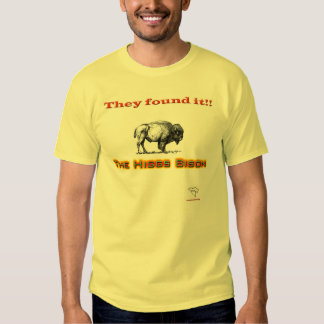The Higgs Bison Tee Shirt