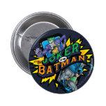 The Joker Vs Batman 6 Cm Round Badge