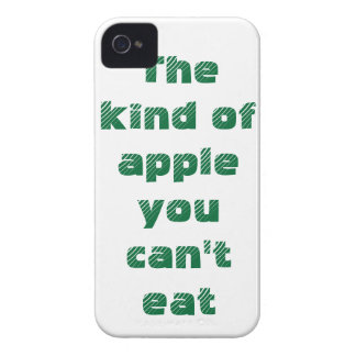 The kind of apple you can't eat Case-Mate iPhone 4 cases