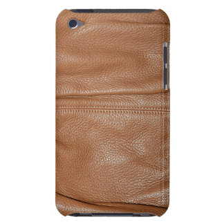 The Look of Soft Supple Brown Leather Grain iPod Touch Cover