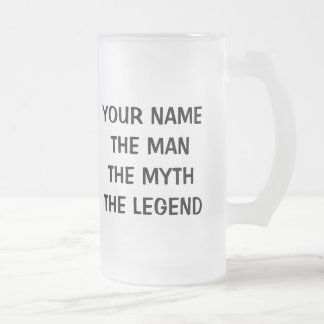 The man myth legend beer mug for 60th Birthday men