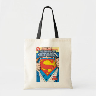 The Man of Steel #1 Collector's Edition Budget Tote Bag