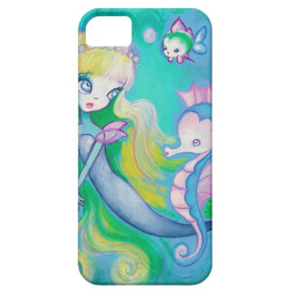 The Mermaid's Sea Horse  (Detail) Case For The iPhone 5