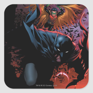 The New 52 - Batman and Robin #1 Square Sticker